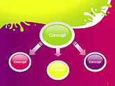 Colorful Splash PowerPoint Template#4