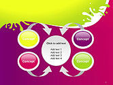 Colorful Splash PowerPoint Template#6