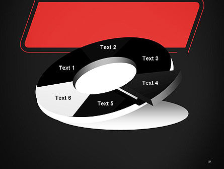 Rounded Red Shape PowerPoint Template Slide 19