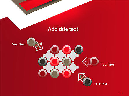 Abstract Cut Out Paper Shapes PowerPoint Template Slide 10