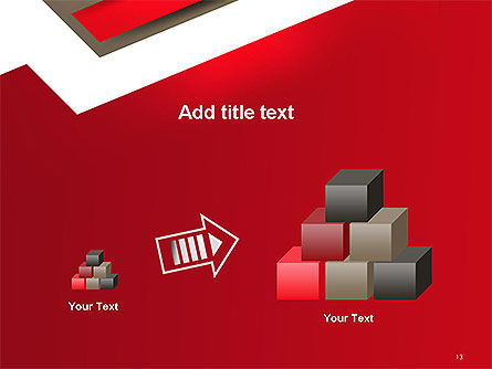 Abstract Cut Out Paper Shapes PowerPoint Template Slide 13
