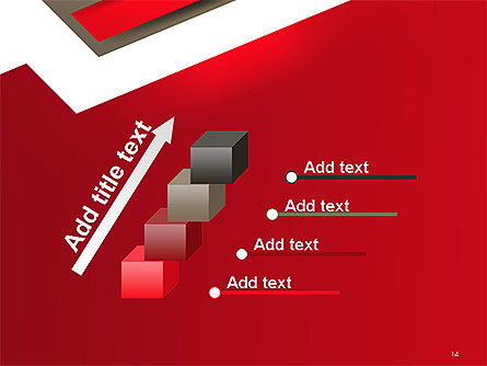 Abstract Cut Out Paper Shapes PowerPoint Template Slide 14