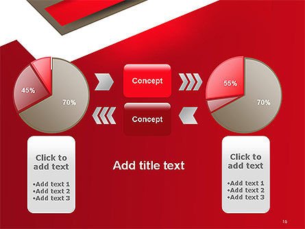 Abstract Cut Out Paper Shapes PowerPoint Template Slide 16