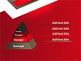 Abstract Cut Out Paper Shapes PowerPoint Template#4