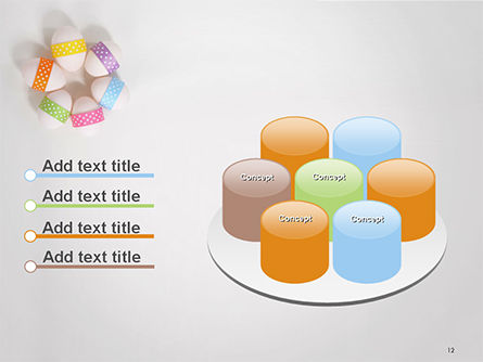 Six Easter Eggs in a Circle PowerPoint Template Slide 12