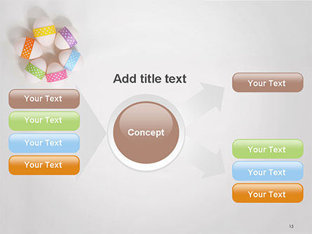 Six Easter Eggs in a Circle PowerPoint Template Slide 15