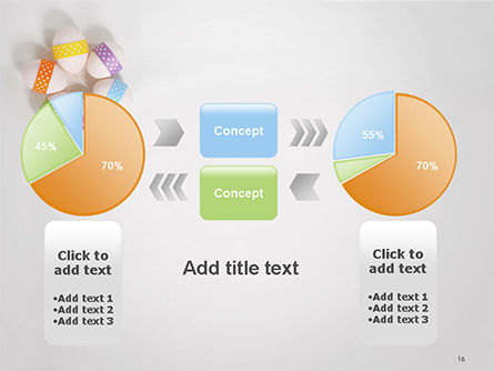 Six Easter Eggs in a Circle PowerPoint Template Slide 16