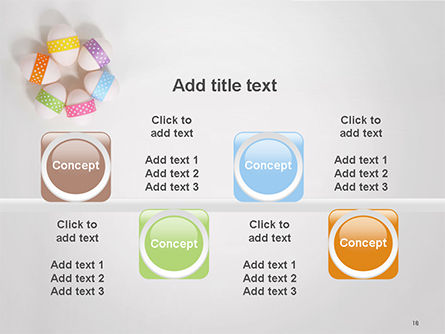 Six Easter Eggs in a Circle PowerPoint Template Slide 18
