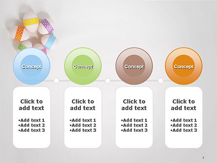 Six Easter Eggs in a Circle PowerPoint Template Slide 5