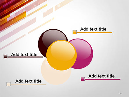 Straight Diagonal Lines PowerPoint Template Slide 10