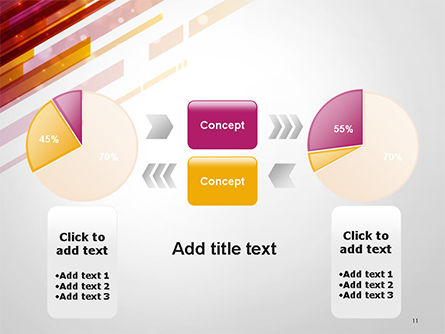 Straight Diagonal Lines PowerPoint Template Slide 11