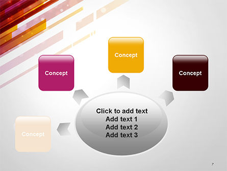 Straight Diagonal Lines PowerPoint Template Slide 7