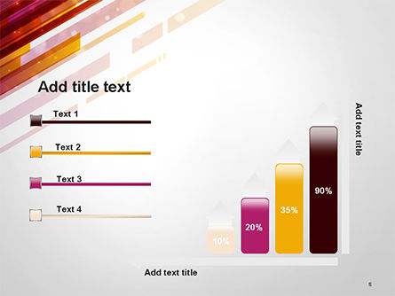 Straight Diagonal Lines PowerPoint Template Slide 8