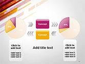 Straight Diagonal Lines PowerPoint Template#11