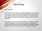 Straight Diagonal Lines PowerPoint Template#2
