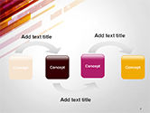 Straight Diagonal Lines PowerPoint Template#4