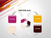 Straight Diagonal Lines PowerPoint Template#6