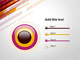 Straight Diagonal Lines PowerPoint Template#9
