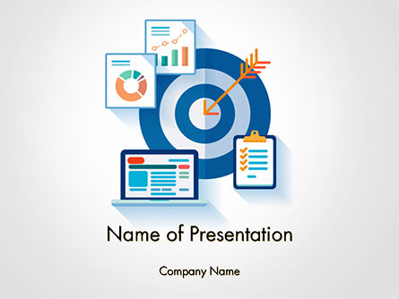 Online Marketing Concept PowerPoint Template, 14615, Careers/Industry — PoweredTemplate.com