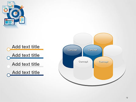 Online Marketing Concept PowerPoint Template Slide 12
