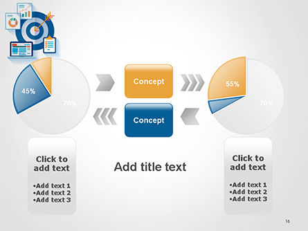 Online Marketing Concept PowerPoint Template Slide 16