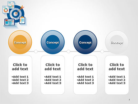 Online Marketing Concept PowerPoint Template Slide 5