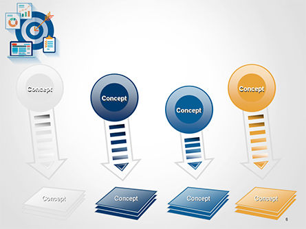 Online Marketing Concept PowerPoint Template Slide 8