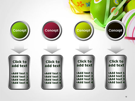 Painted Easter Eggs PowerPoint Template Slide 18