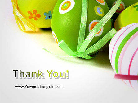 Painted Easter Eggs PowerPoint Template Slide 20