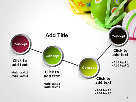 Painted Easter Eggs PowerPoint Template Slide 6