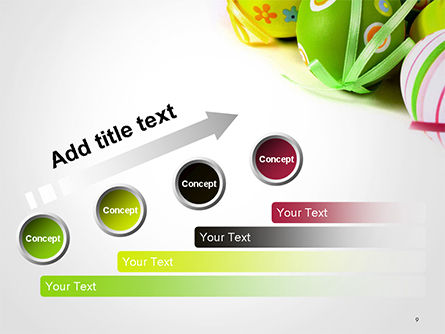Painted Easter Eggs PowerPoint Template Slide 9