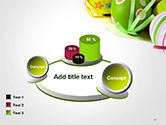 Painted Easter Eggs PowerPoint Template#13