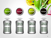Painted Easter Eggs PowerPoint Template#18