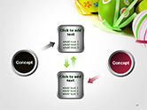 Painted Easter Eggs PowerPoint Template#19
