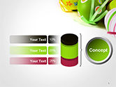 Painted Easter Eggs PowerPoint Template#8