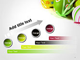 Painted Easter Eggs PowerPoint Template#9