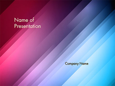 Abstract Bright Background with Diagonal Lines PowerPoint Template
