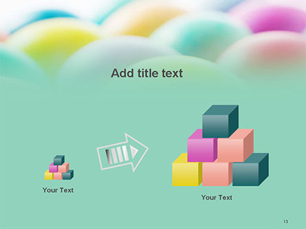 Colorful Easter Eggs PowerPoint Template Slide 13