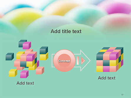 Colorful Easter Eggs PowerPoint Template Slide 17