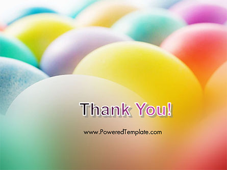 Colorful Easter Eggs PowerPoint Template Slide 20
