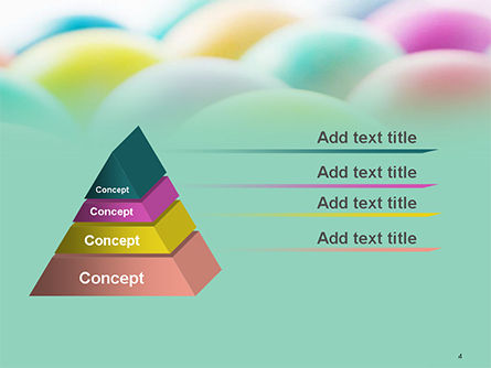 Colorful Easter Eggs PowerPoint Template Slide 4
