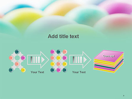 Colorful Easter Eggs PowerPoint Template Slide 9