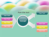 Colorful Easter Eggs PowerPoint Template#15