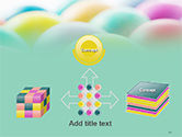Colorful Easter Eggs PowerPoint Template#19