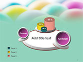 Colorful Easter Eggs PowerPoint Template#6
