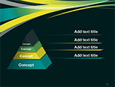 Perspective Effect of Colorful Ribbons PowerPoint template#12