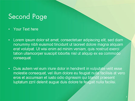 Paper Style Background PowerPoint Template, Slide 2, 14622, 3D — PoweredTemplate.com