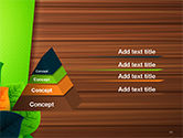 Rainbow Leaves PowerPoint Template#10