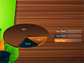 Rainbow Leaves PowerPoint Template#14