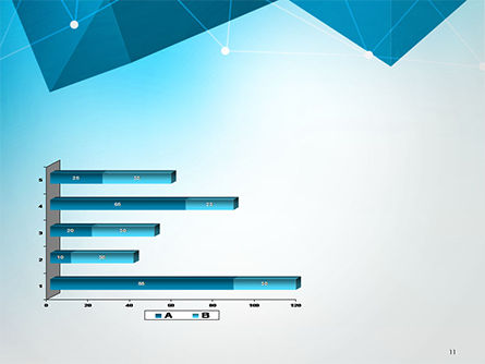 Polygons and Connected Dots PowerPoint Template Slide 11